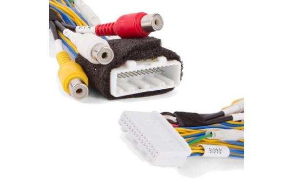 Kabelový adaptér pro připojení couvací kamery k monitoru a video v pohybu Toyota Touch 2