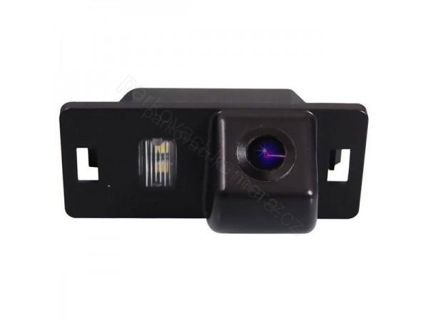 Couvací kamera ve světle SPZ pro Audi A1, A4, A5, A6, Q3, Q5, Q7, TT