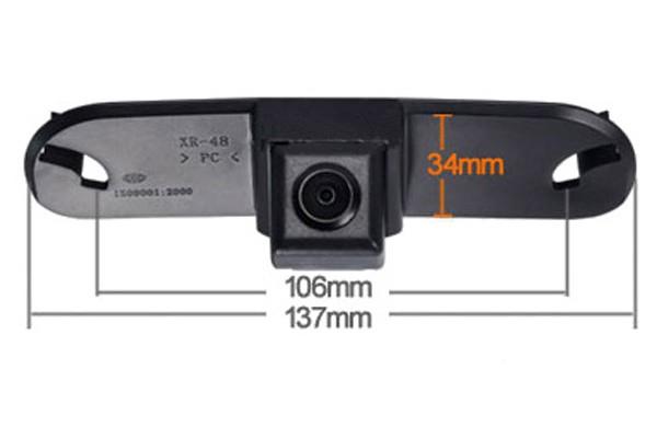 Couvací kamera Honda Civic 2010, 2011
