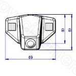 Honda couvací kamera - model 4