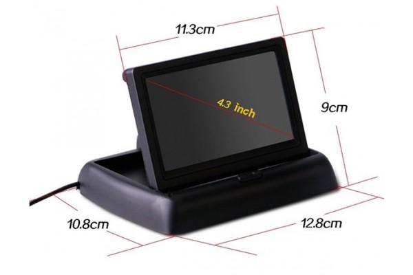 Sklápěcí monitor do auta 4.3″