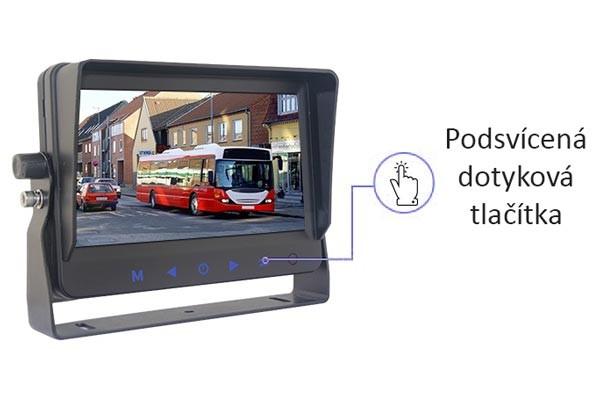 Monitor pro užitkové vozy VESTYS AHD 6,2″