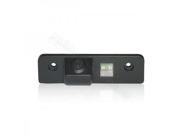 Couvací kamera ve světle SPZ pro Škoda Fabia, Octavia a Roomster