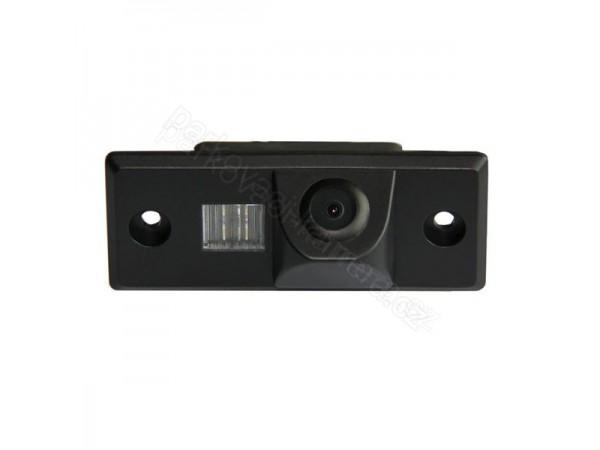 Couvací kamera ve světle SPZ pro VW Touareg, Tiguan, Golf a Passat