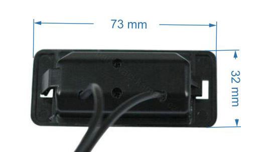 rozmery BMW couvací kamera - model 1