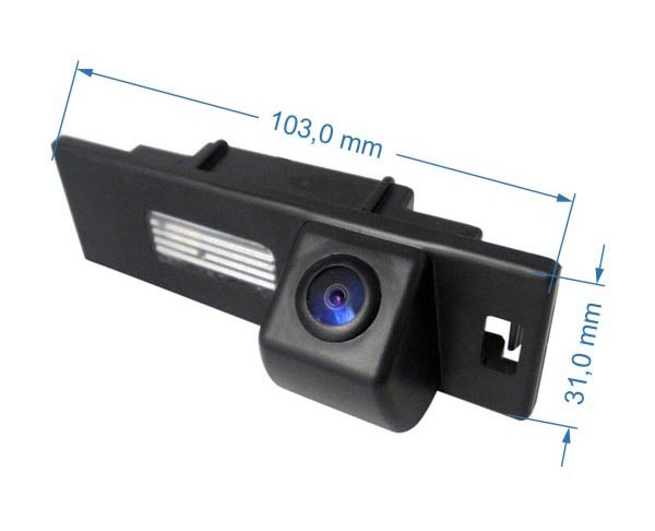 rozmery BMW couvací kamera - model 2