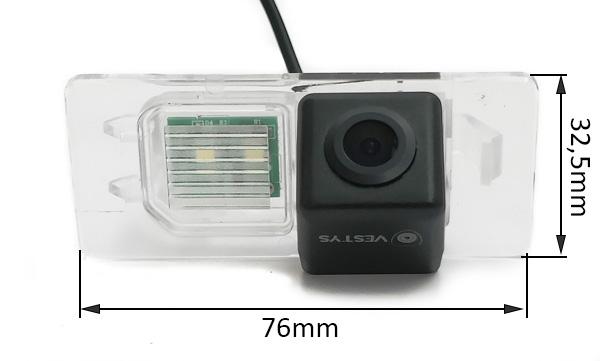 rozmery couvací kamery pro Jaguar XE, XF, E-PACE a F-PACE
