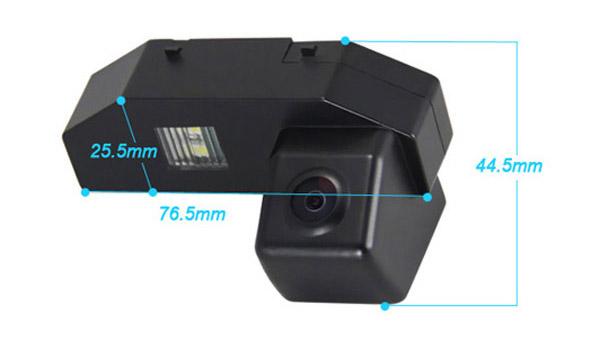 rozmery Mazda couvací kamera - model 2
