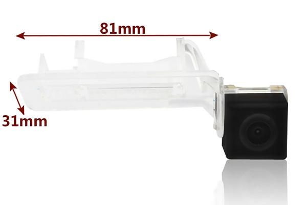 rozmery Mercedes-Benz couvací kamera - model 5