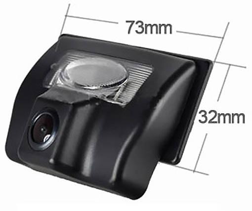 rozmery Suzuki couvací kamera - model 1