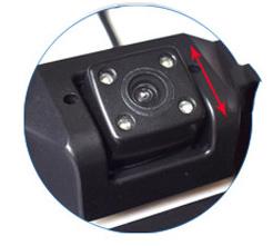 Couvací kamera v rámečku SPZ