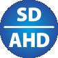 kamera se standardním SD nebo vysokým AHD rozlišením