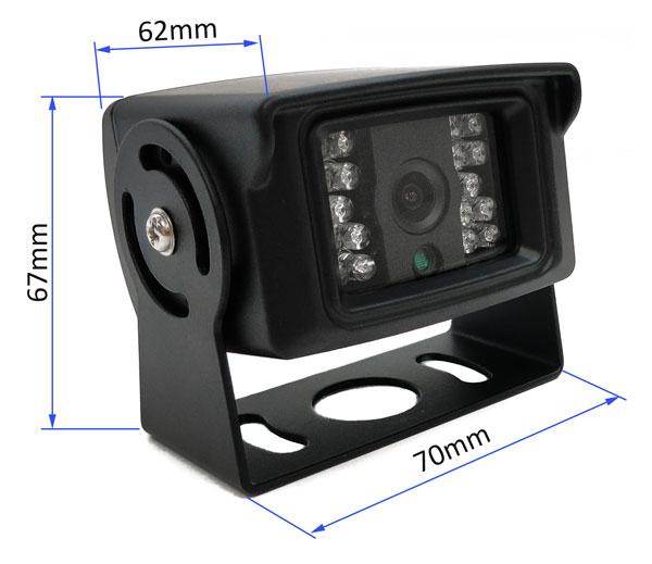 parkovací kamera vestys simple rozměry