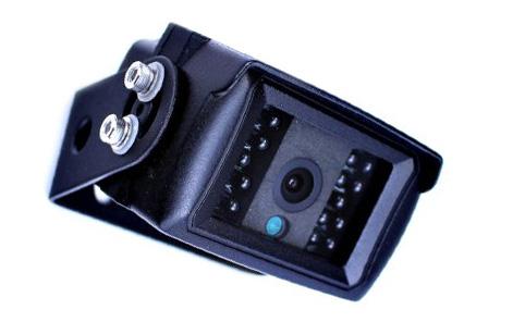umístění couvací kamery na kamion