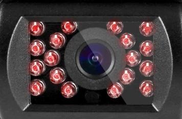 Parkovací kamera bezdrátová s 18 IR LED