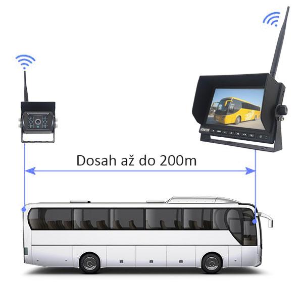 Bezdrátové připojení kamery a monitoru